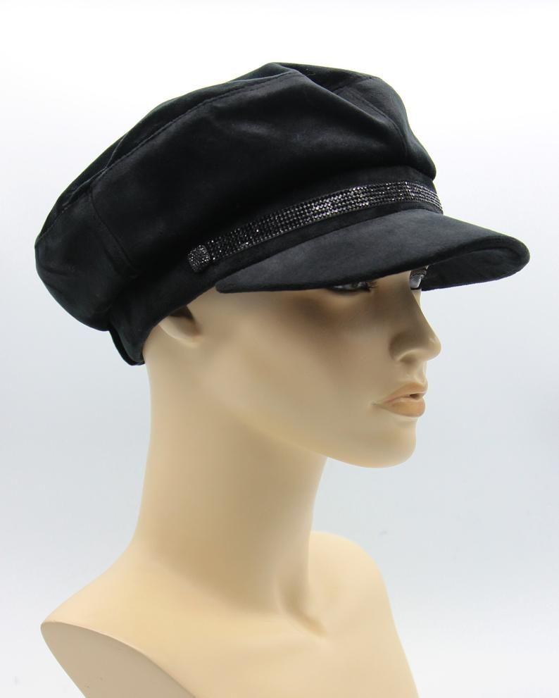 b0f1ac6f Velours breton hat, cape breton hat, breton hat, cap velours, john lennon  cap, baker cap, baker boy cap, captains hat, breton style, grey | Breton cap \Baker ...