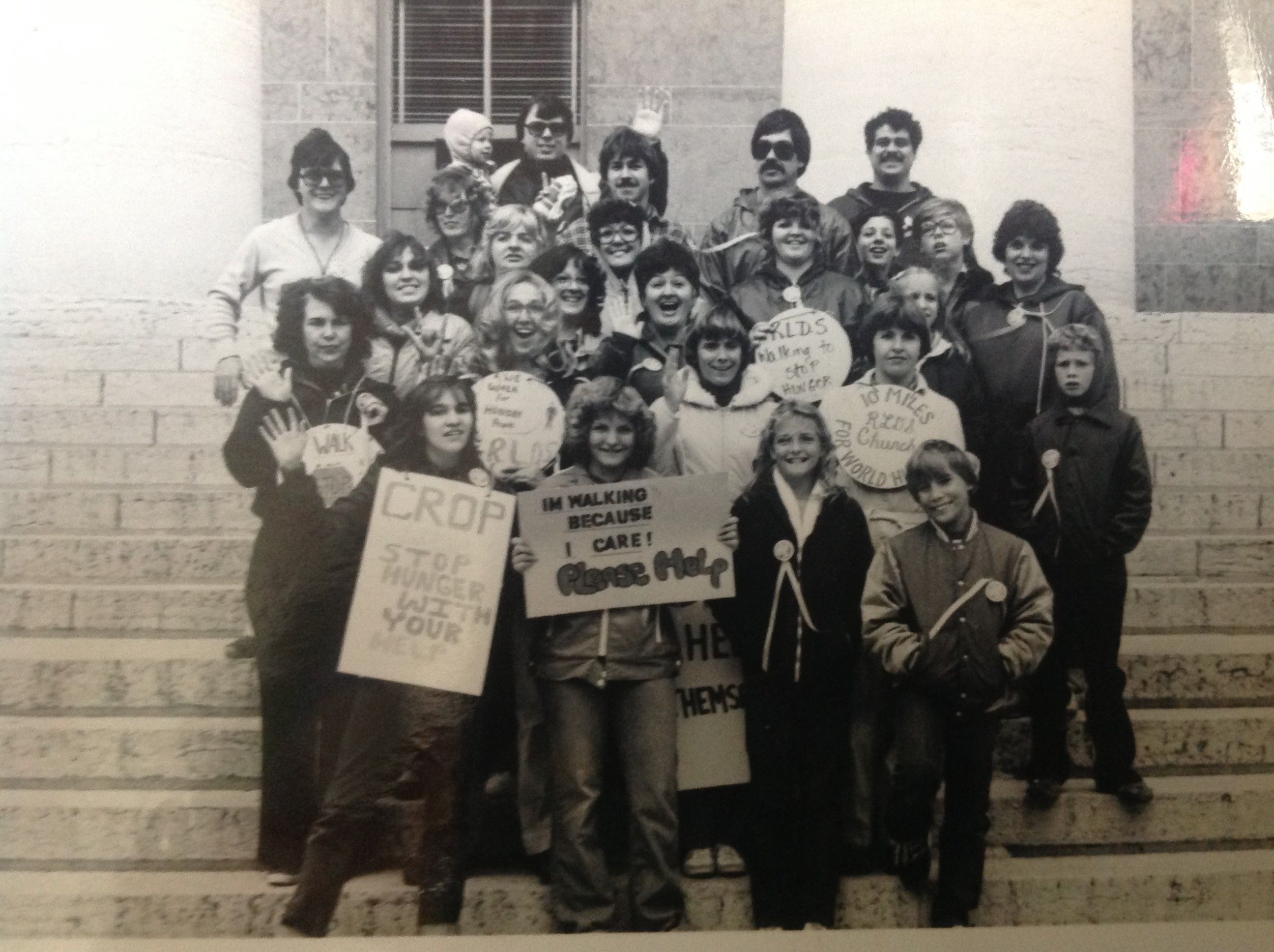 Ending Hunger One Step at a Time.  Outreach marches on! Longtime supporter Vivian Nash and her husband Jerry are making strides to combat chronic hunger with friends and neighbors in Oregon by participating in a CROP Walk.  Grove City #CropWalk, 1981