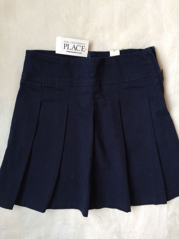 d1ead6a613 NWT place for children kids uniform pleated skirt dark blue size 5 #fashion  #clothing #shoes #accessories #kidsclothingshoesaccs #girlsclothingsizes4up  ...