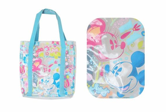 Blue Mickey Mouse Diaper Bags