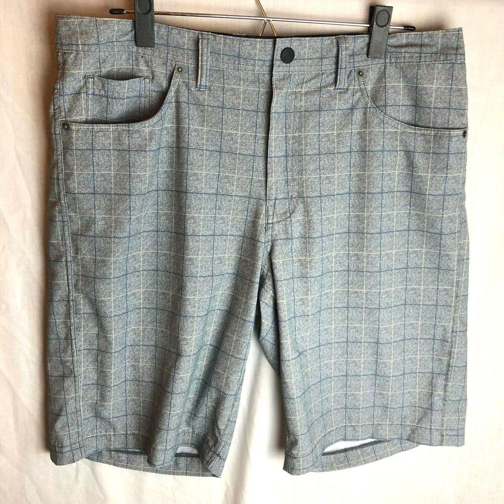 f542291006 Travis Mathew Performance Golf Shorts Size 34 Mens Green Gray #TravisMathew  #ActivewearShorts