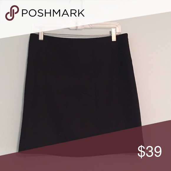 Banana Republic Wool Mini Skirt Must have basic! Worn once. Can sit at mid or high waist. No signs of wear. Banana Republic Skirts Mini