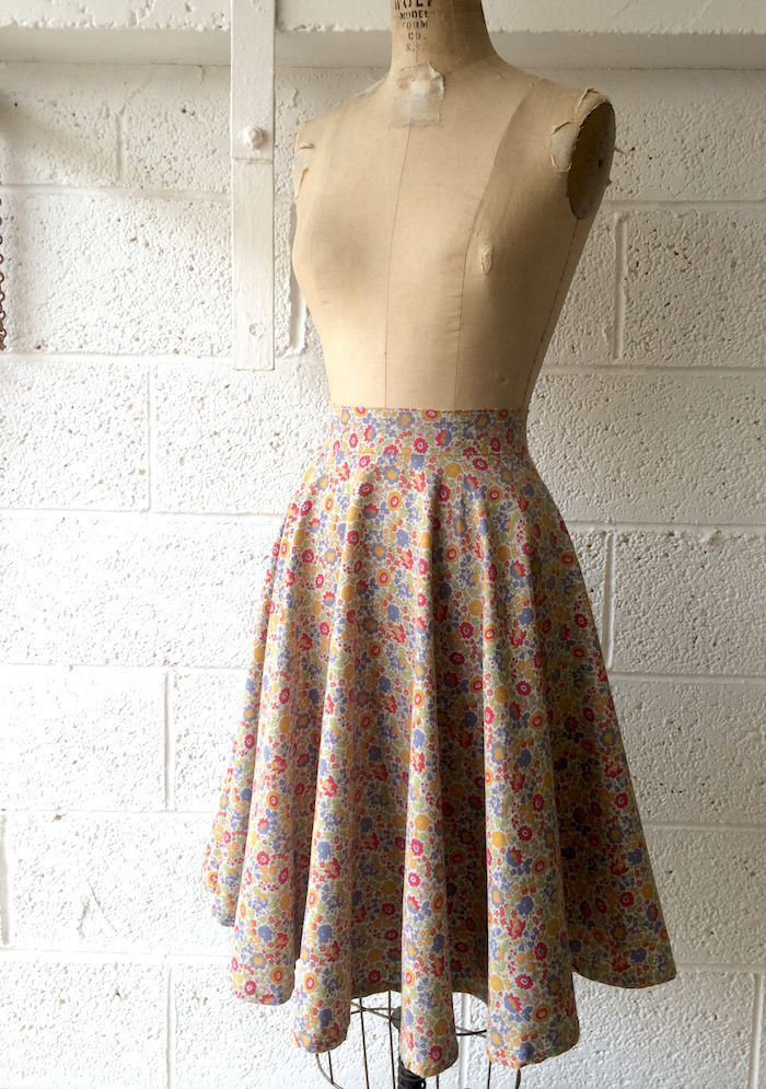 5 easy skirts to make & refashion - without a sewing pattern! (By ...