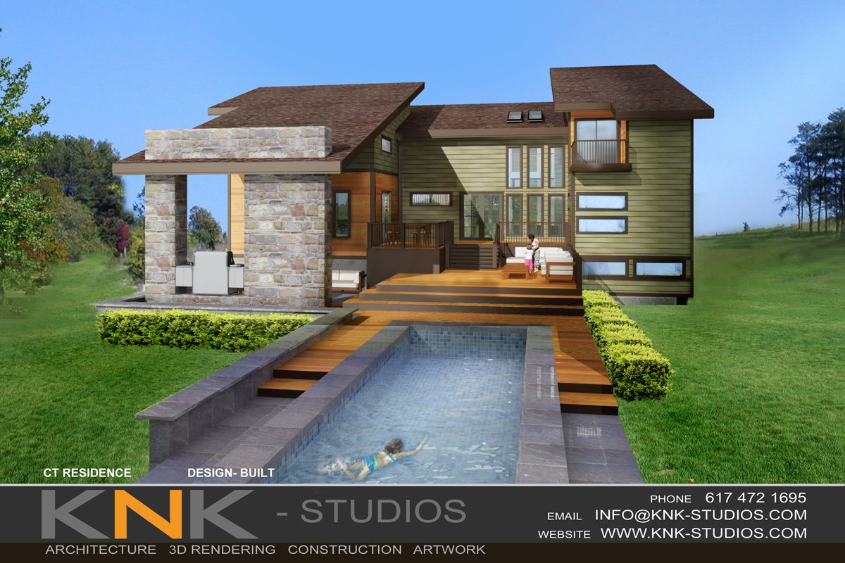 Superior Contemporary House Plans With Photos | Affordable Modern Home In CT