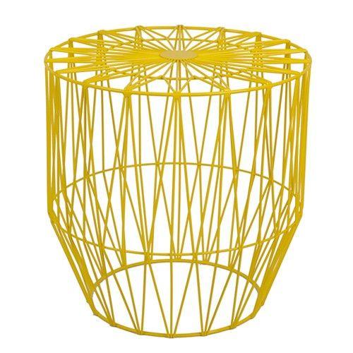 Havana geometric wire side table yellow ideas for the house havana geometric wire side table yellow greentooth Choice Image