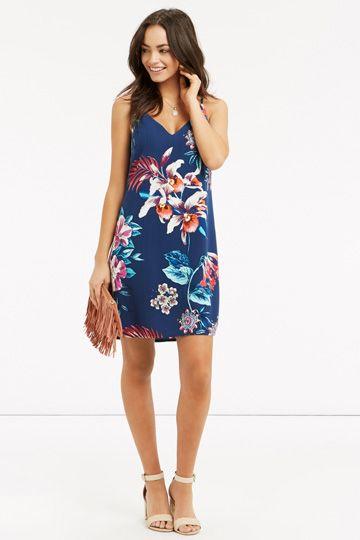 045ecc47647c TROPICAL PLACEMENT CAMI DRESS | Wishlist | Dresses, Summer dresses ...