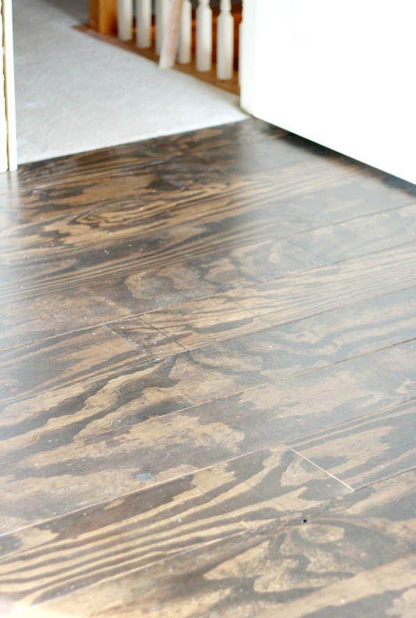 Diy Plywood Floors Cheap Wood Flooring