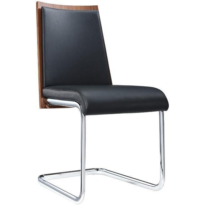Morgan Modern Black Walnut Dining Chair Set Of 2 Dining