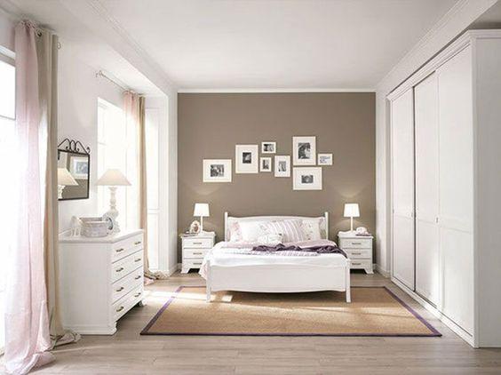 Camera Da Letto Pittura Marrone : Camera da letto tortora elegante e accogliente ecco idee per