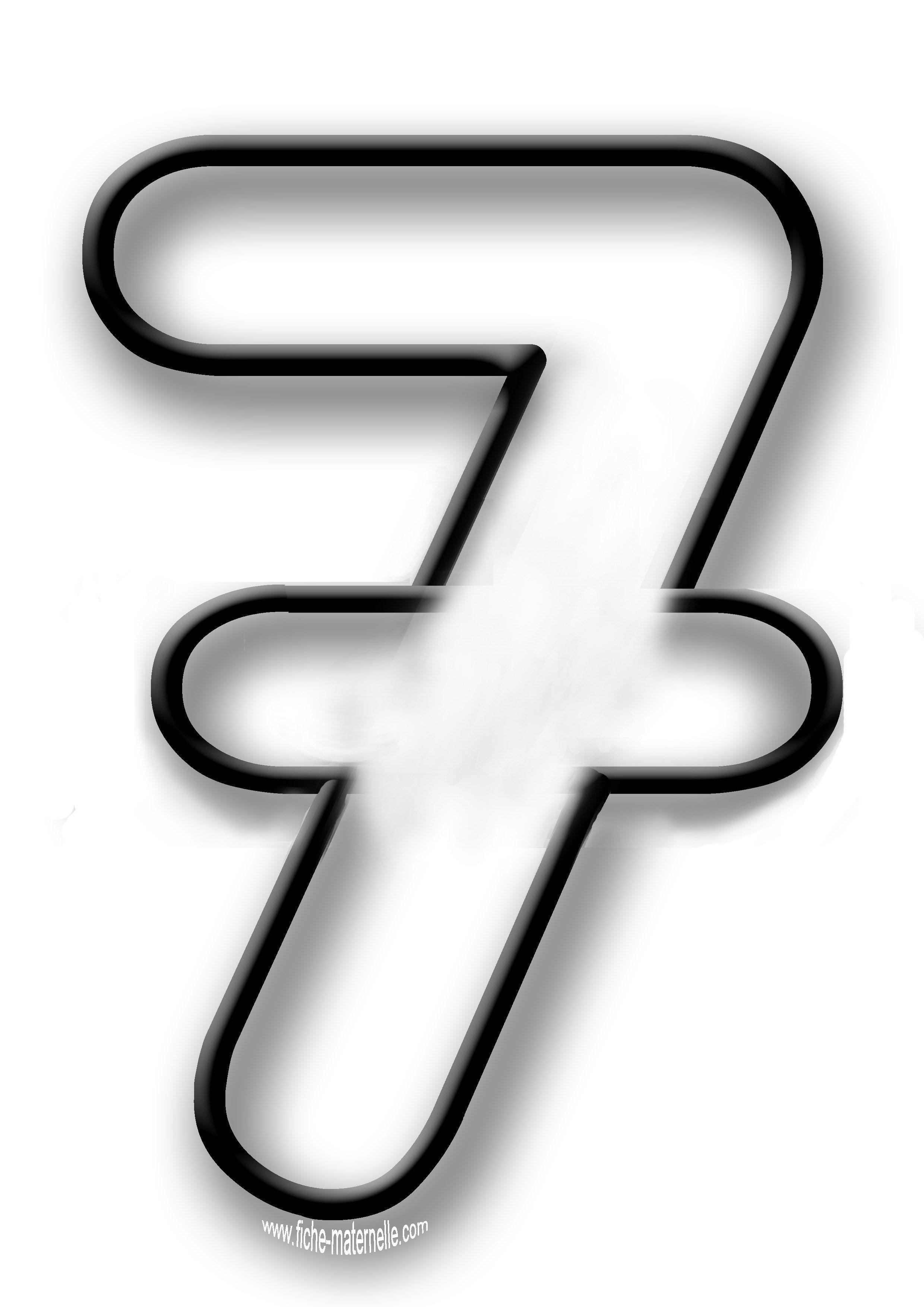 Coloriage des chiffres et english4tinytots chiffre coloriage chiffre et coloriage - Dessin de chiffre ...