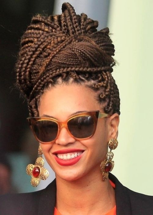 Peachy 1000 Images About Braids On Pinterest Senegalese Twists Black Short Hairstyles Gunalazisus