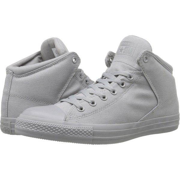 d877b039ac32ae Converse Chuck Taylor All Star High Street Mono Canvas Hi... ( 33) ❤ liked  on Polyvore featuring shoes