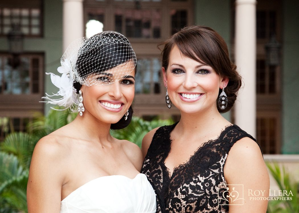 Dramatic Eyes, Skin is Fresh and Glowing Bride and Mother