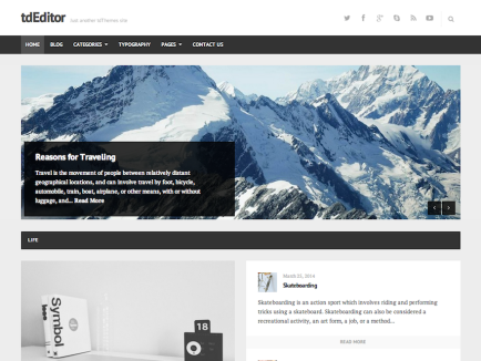 Manage Themes ‹ viarevere — WordPress