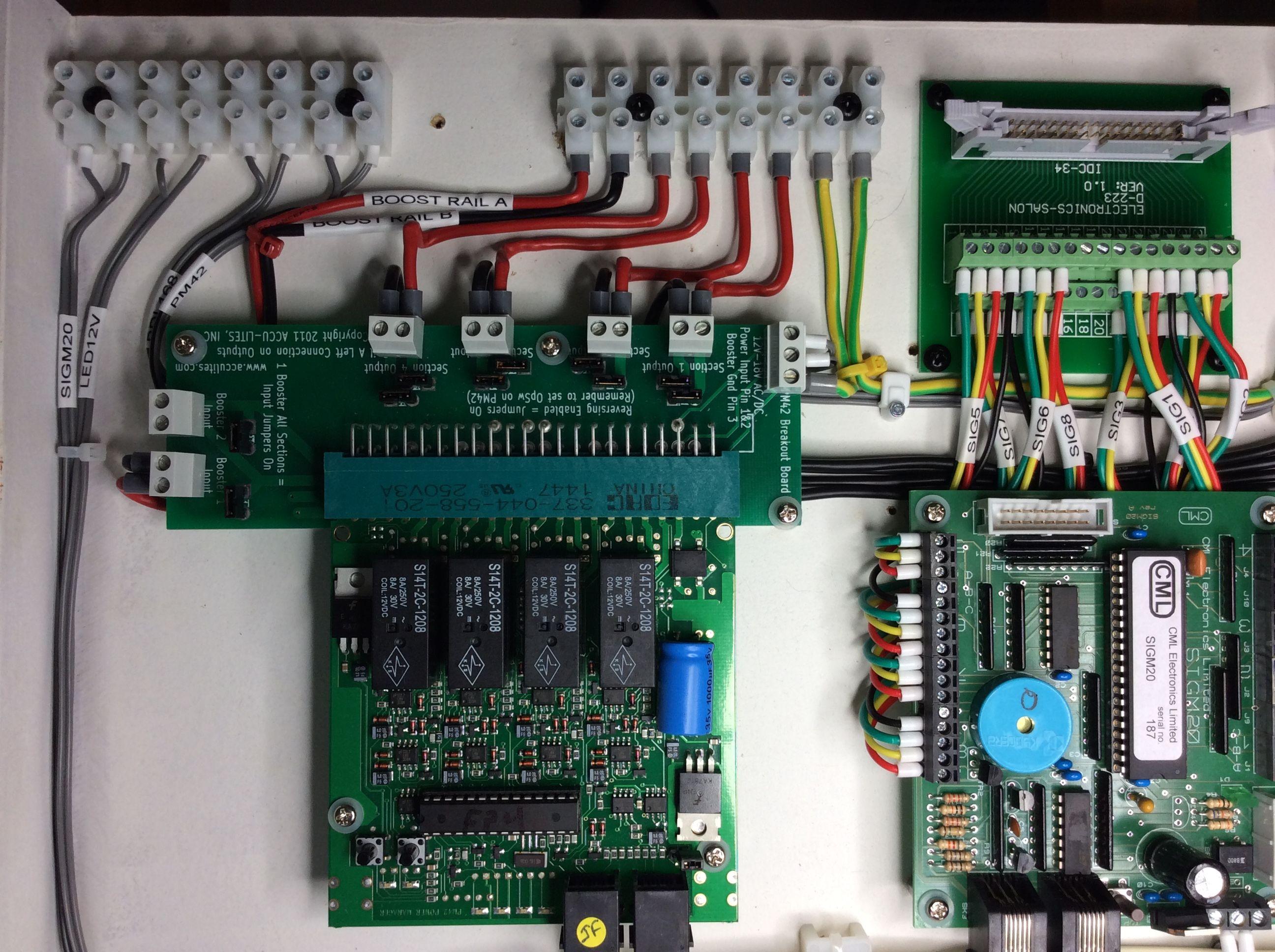 medium resolution of digitrax pm42 power manager board