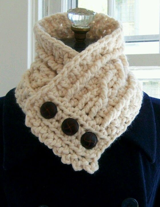 free crochet neck warmer patterns | ... neck warmer - could use a ...