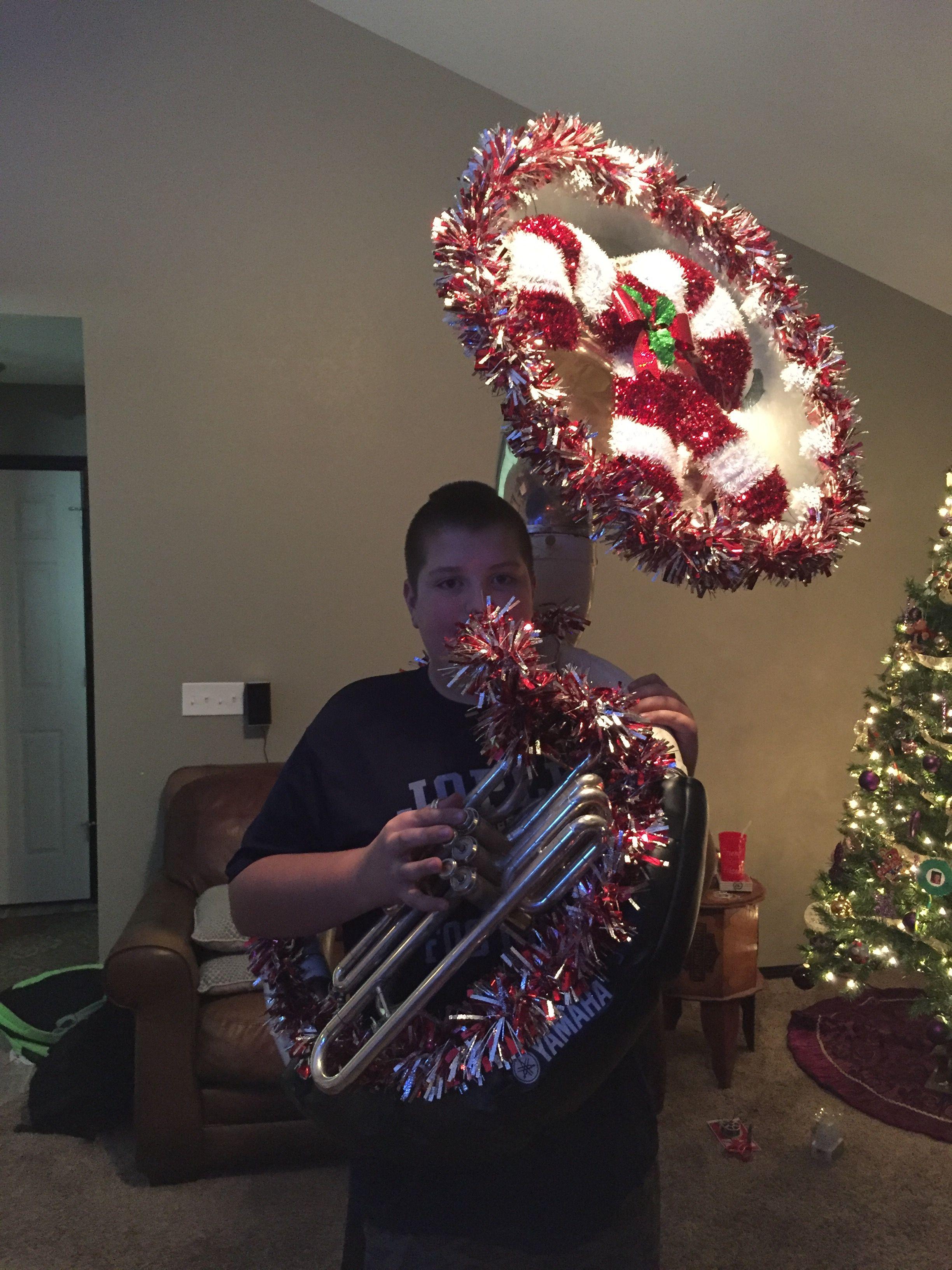 Tuba Christmas.Tuba Christmas Decoration For The Christmas Parade