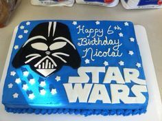 Image result for homemade star wars cake Boy ideas Pinterest