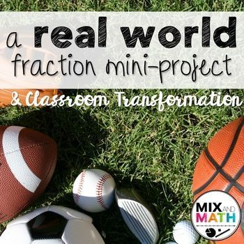 Fraction Review Project (4th Grade) #mathintherealworld