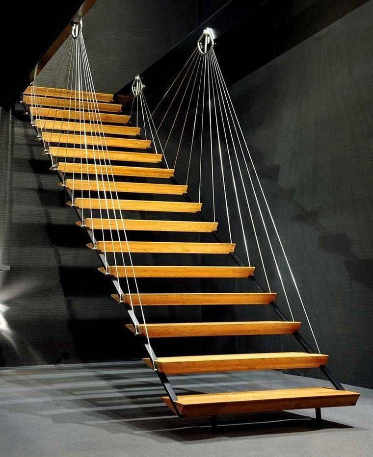 rampe escalier int rieur comment faire le bon choix pour son espace de vie cordage garde. Black Bedroom Furniture Sets. Home Design Ideas