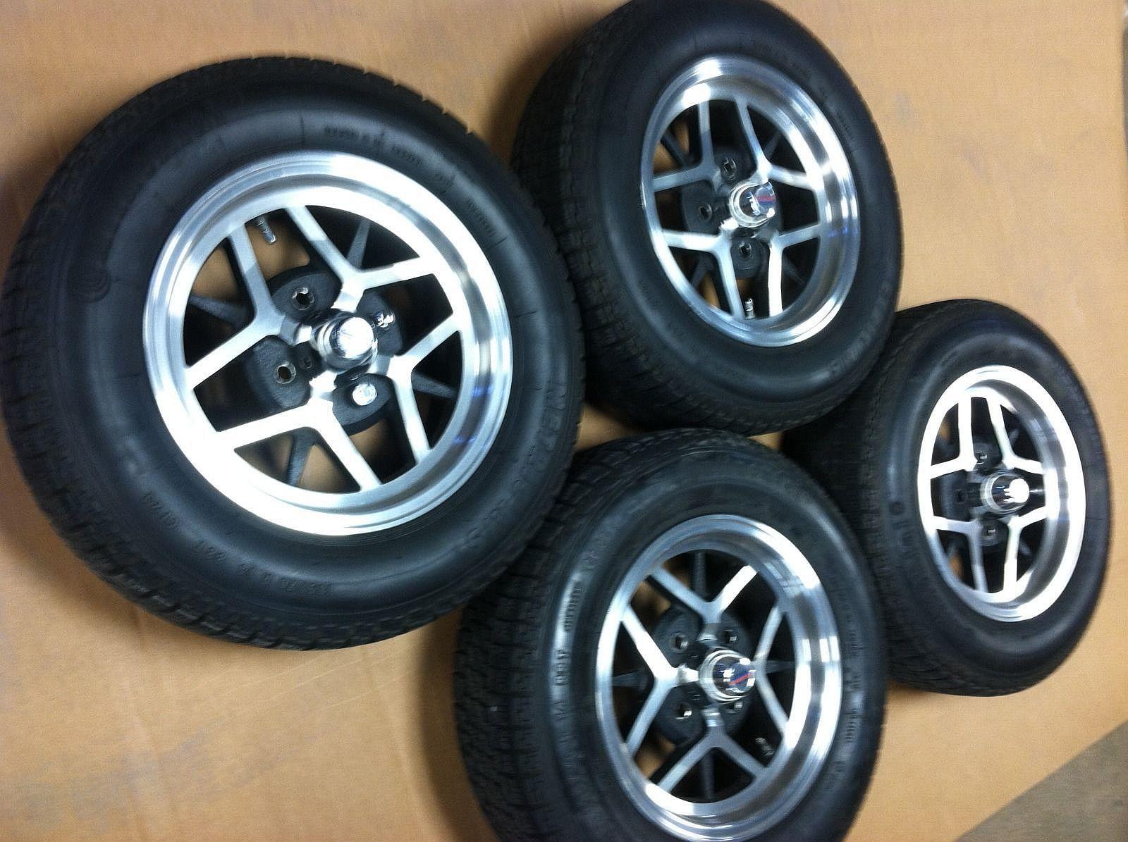 American Racing Wheels Pre Owned Triumph Tr6 Rims