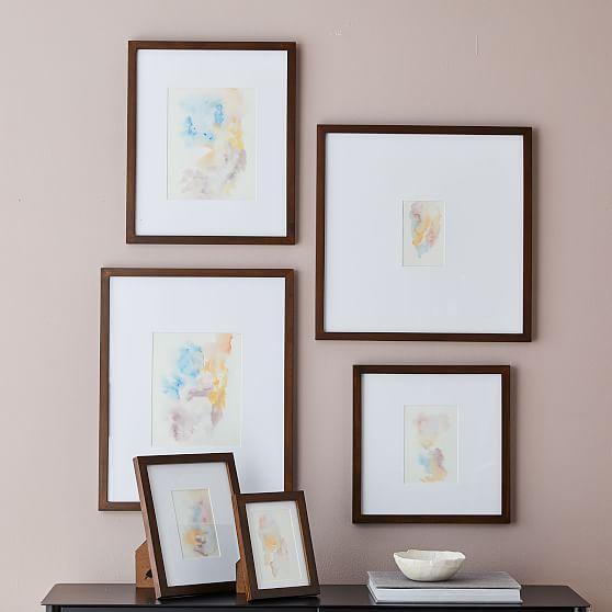 Gallery Frames, Dark Walnut, 4\