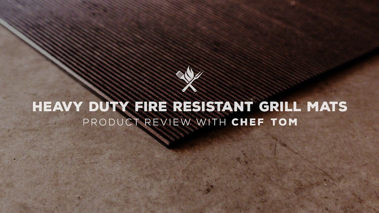 Heavy Duty Fire Resistant Grill Mat Product Roundup By All Things Barbecue Deck Indoor Outdoor Carpet Outdoor Carpet