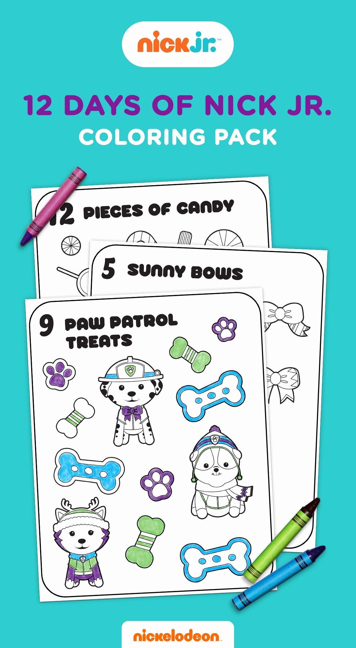 Nick Jr Coloring Book Best Of 12 Days Of Nick Jr Coloring ...