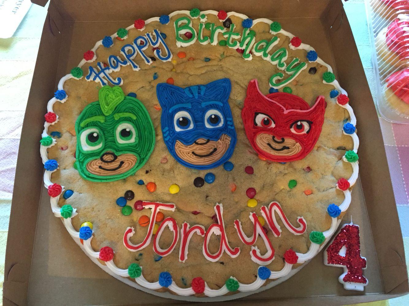 pj mask cookie cake  pj masks birthday party pj masks