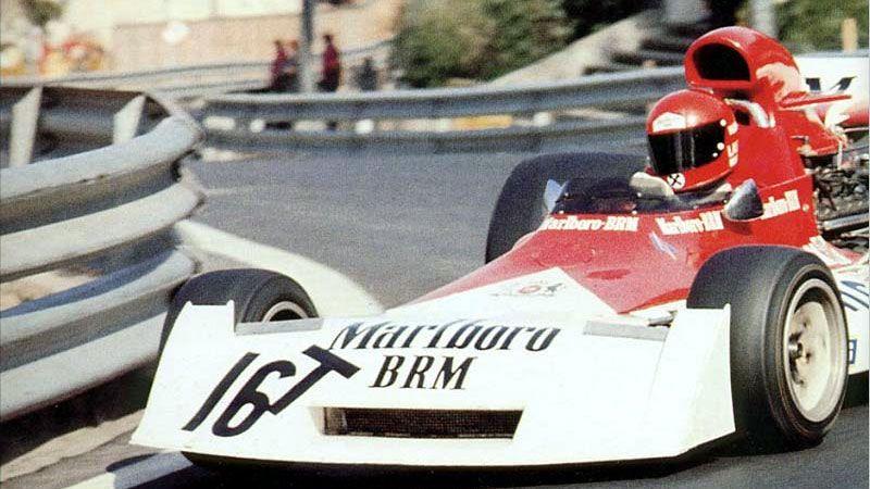 1973. Nikki Lauda_16T (muleto). BRM P160.