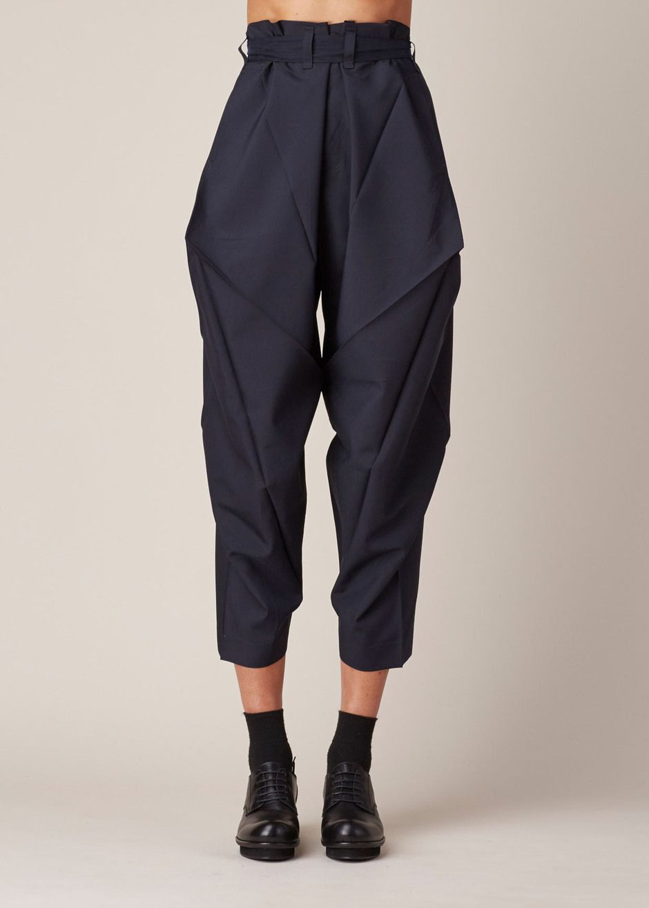 Issey Miyake Origami Culottes (Navy) | I'd Buy That ... - photo#22