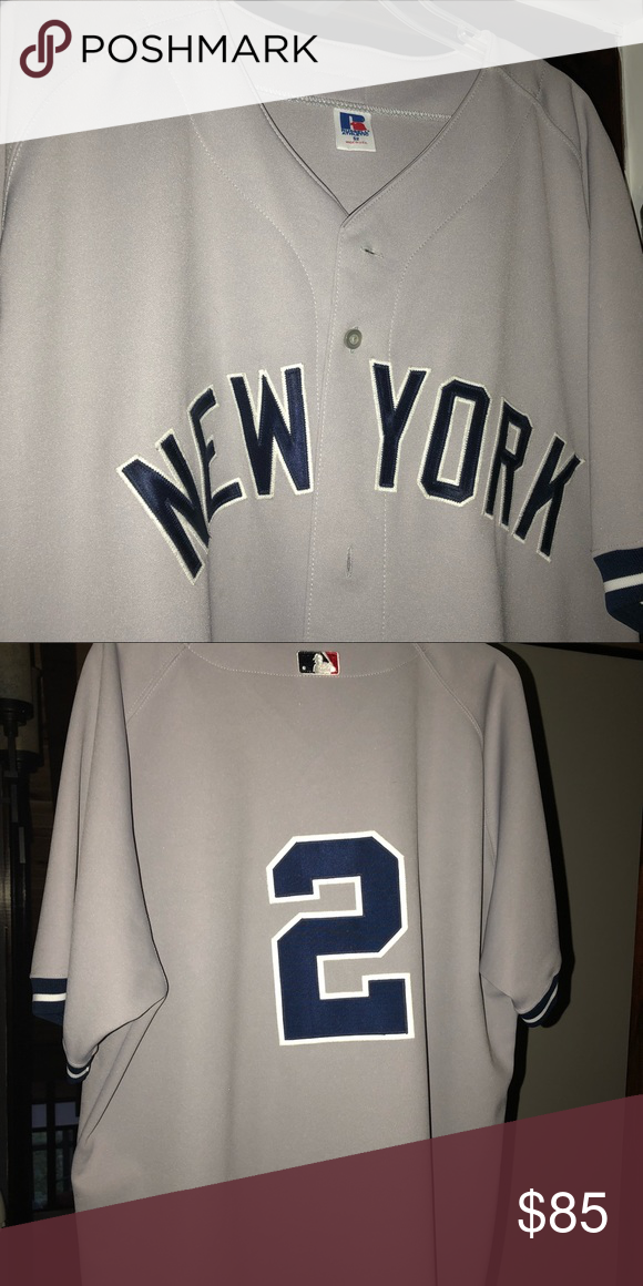 cheaper 2a707 8d00b Derek Jeter NY Yankees Away Jersey New w/o tags Jeter Away ...