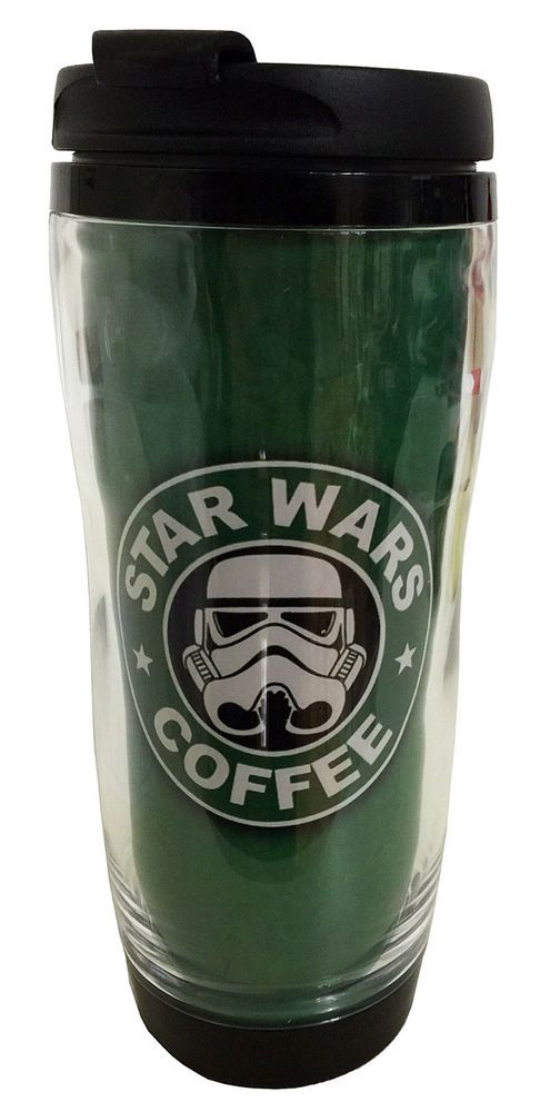 STAR WARS STORMTROOPER 16OZ PLASTIC//STAINLESS STEEL TRAVEL CUP