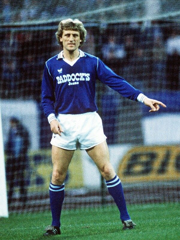Klaus Fichtel of Shalke 04 in 1978.