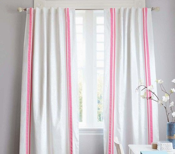 Cute Curtains From Pottery Barn Kids Harper Blackout