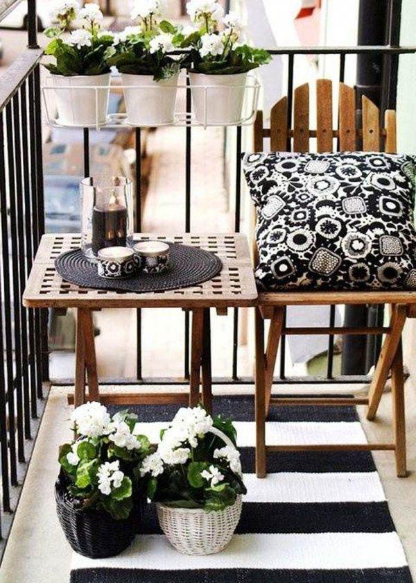 Petit balcon nos id es pour l am nager avec style petits balcons marie c - Idee deco petit balcon ...