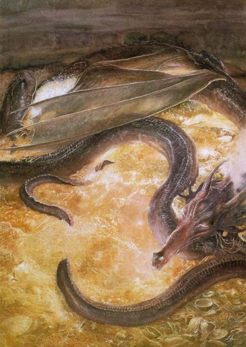 Image result for Alan Lee Smaug