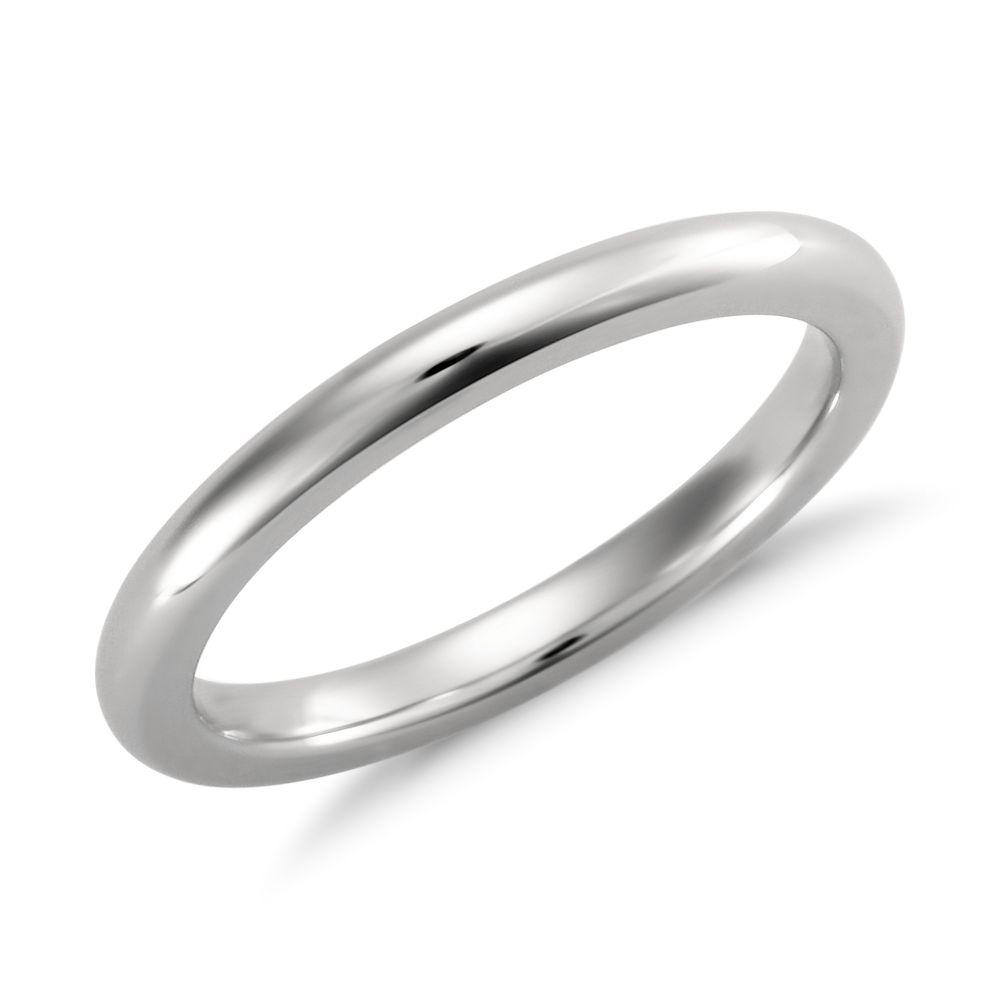 Comfort Fit Wedding Ring In Platinum 2mm Blue Nile In 2020 Diamond Wedding Rings Women Yellow Gold Engagement Ring Set Comfort Fit Wedding Ring