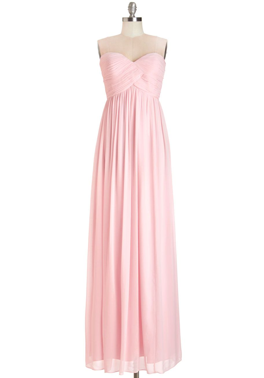 Glide me home chiffon maxi dress garden dress modcloth and rose