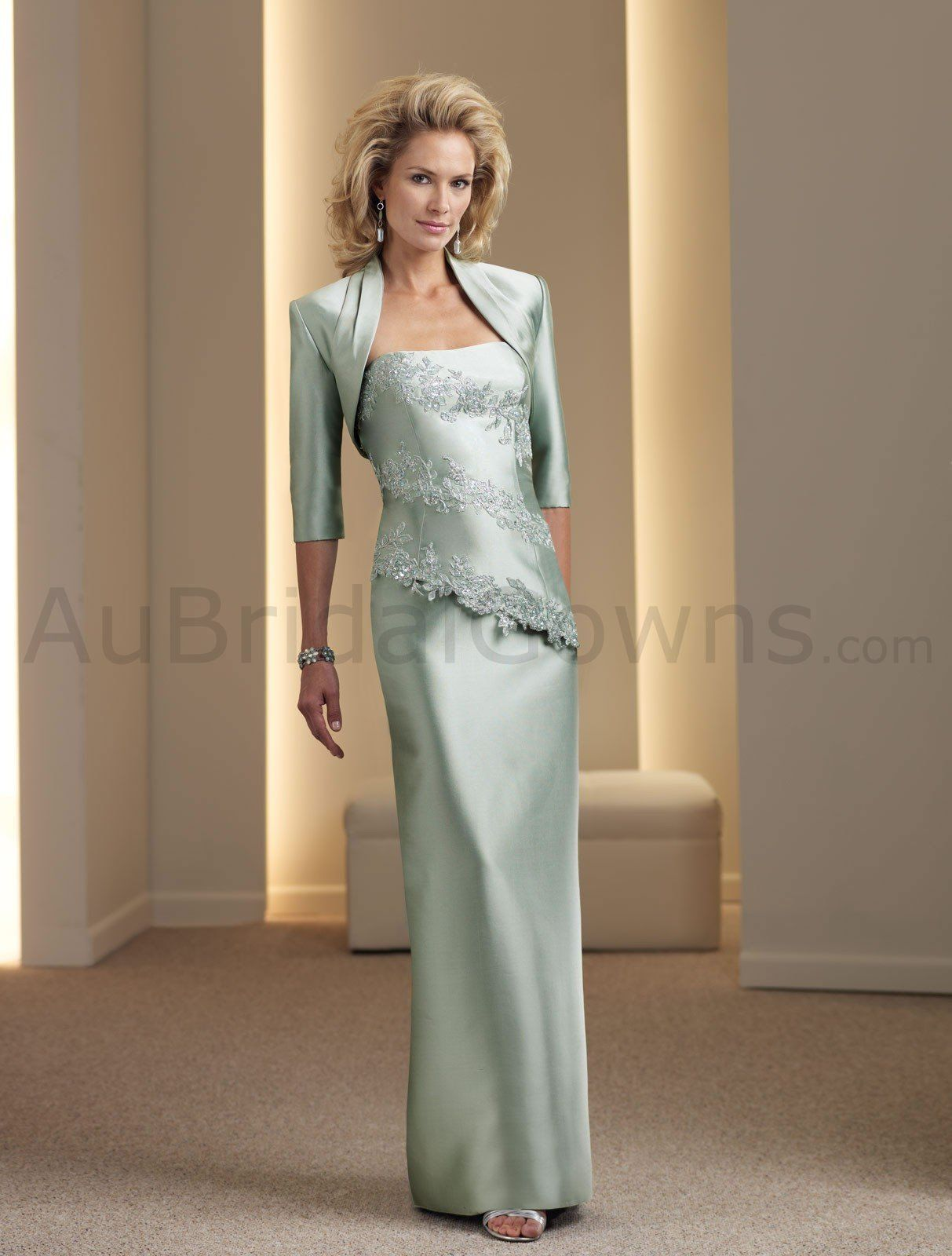 Asymmetrical Mother of the Groom Dresses