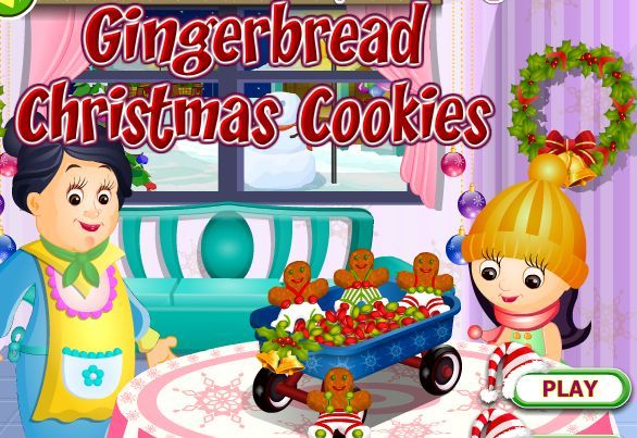Prepare Toothsome Gingerbread Christmas Cookies For Your Kids This Christmas Play Gingerbread Christmas Cookies Gam Christmas Cookies Cookie Games Gingerbread