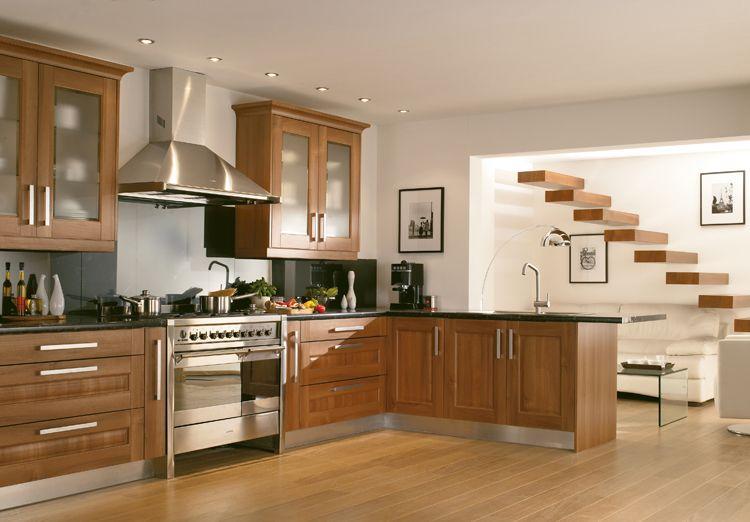 33 Modern Style Cozy Wooden Kitchen Design Ideas Shaker Style Kitchen Cabinets Modern Wooden Kitchen Kitchen Design