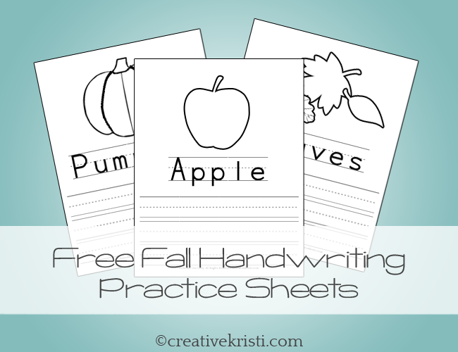 pin by the appy ladies on autumn fall worksheets handwriting practice worksheets handwriting. Black Bedroom Furniture Sets. Home Design Ideas