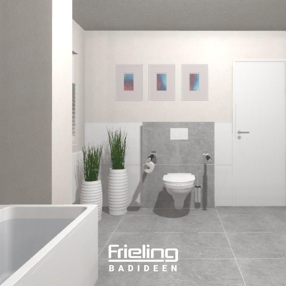 Das Grosse Barrierefreie Moderne Bad Mit Badewanne 15qm Barrierefrei Bad Badezimmerideen Barrieren