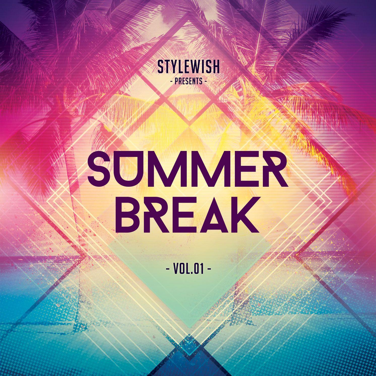 cd inlay template - summer break cd cover artwork pinterest cd cover cd