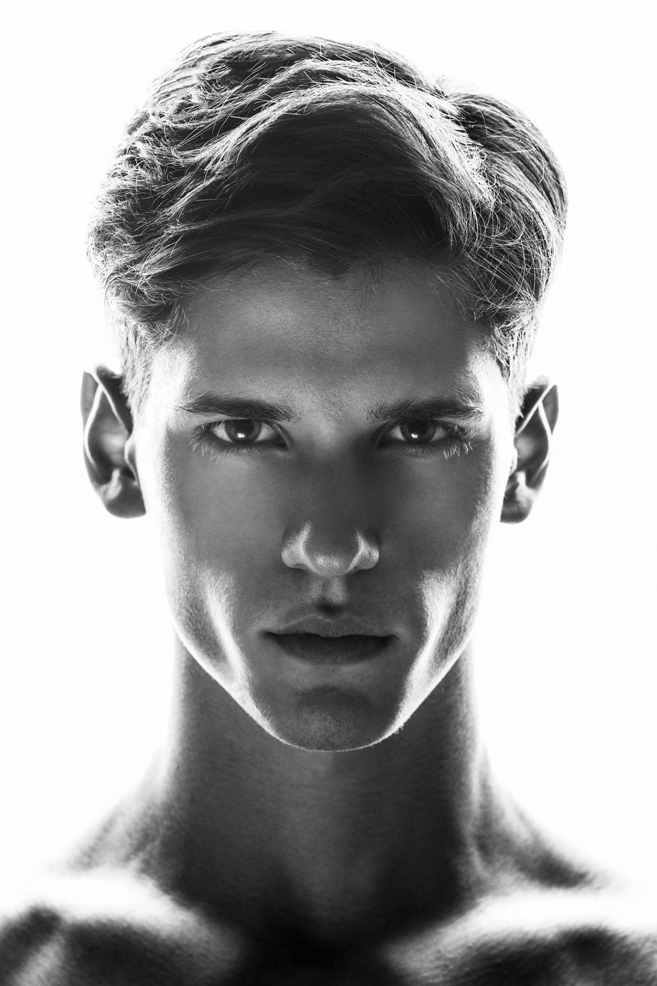 Nate Hill | Photographed by Michael Silver Great hair ...