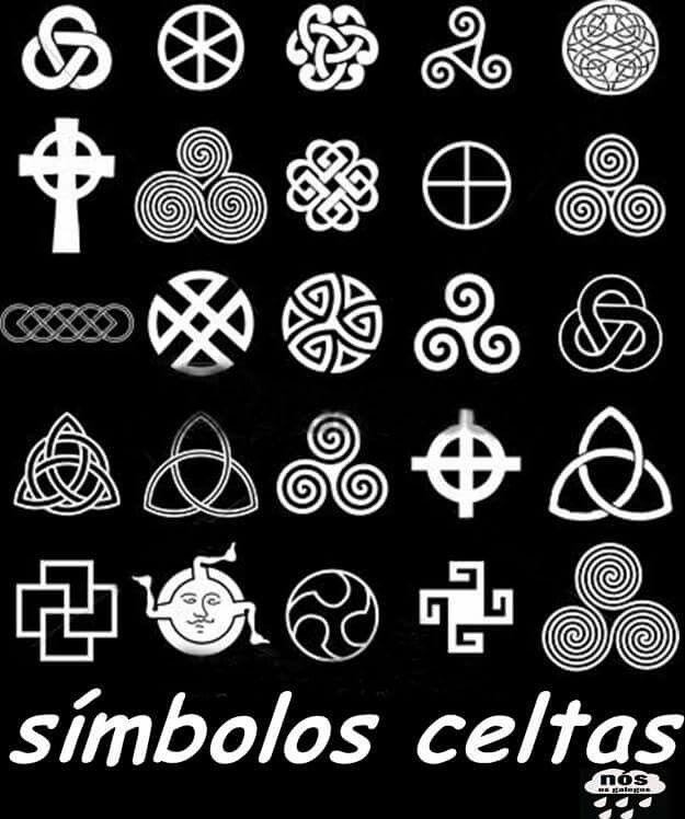 s237mbolos celtas celtes simbols pinterest s237mbolos