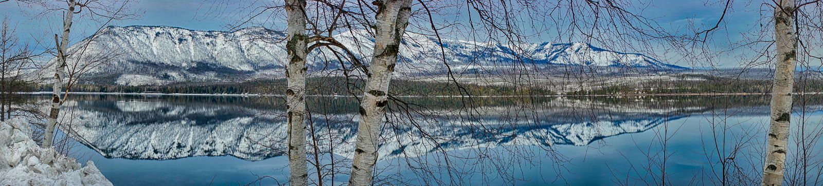 Beyond the trees, Lake McDonald by Simon Chandler on 500px