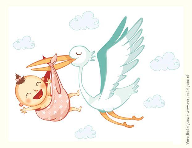 Resultado De Imagen Para Cigueña Bebe Baby Shower