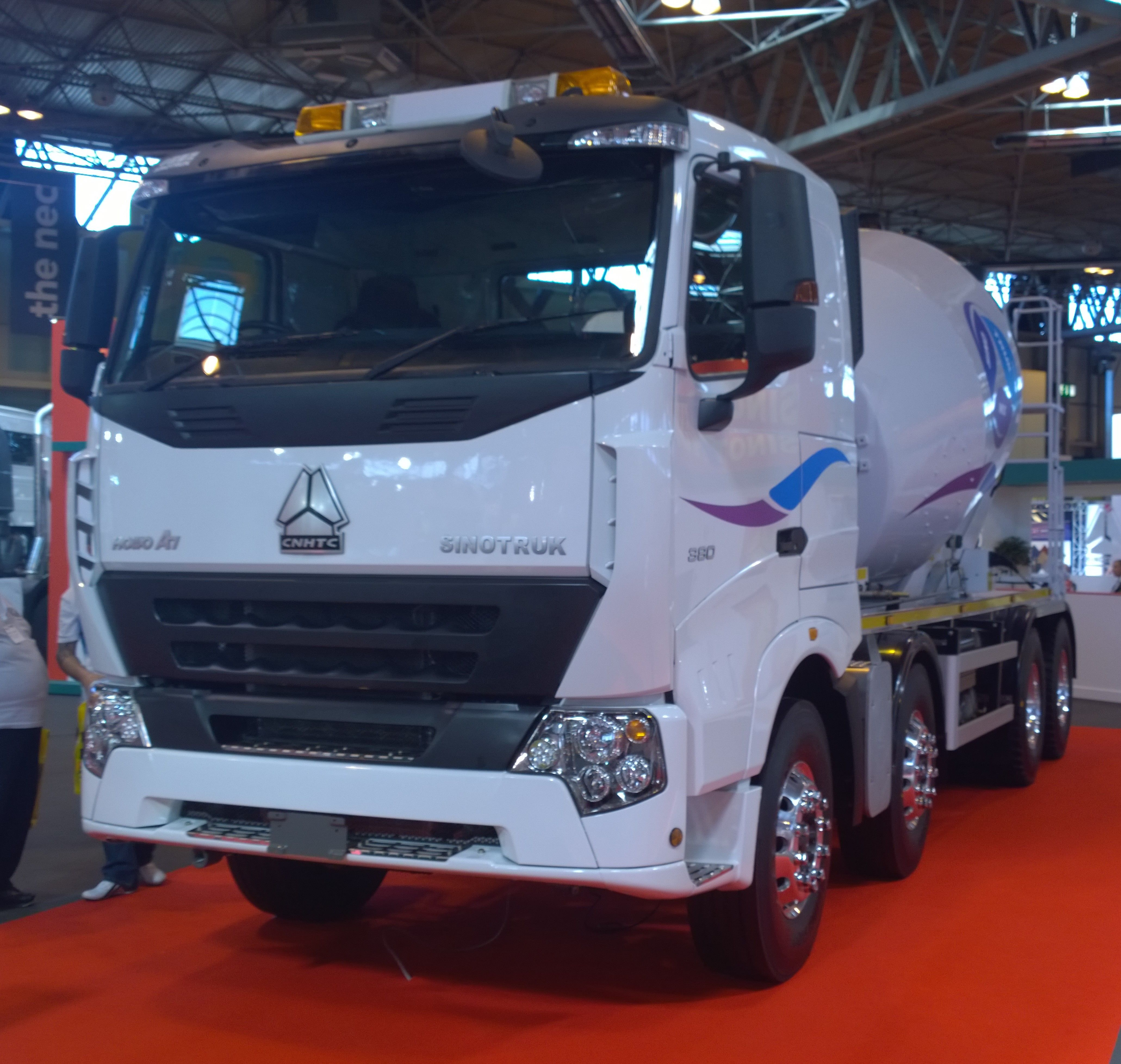 Sinotruck New to the UK from China CV Show 2015